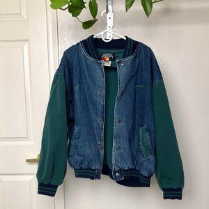Vintage Hartwell Viasport Denim Varsity Jacket